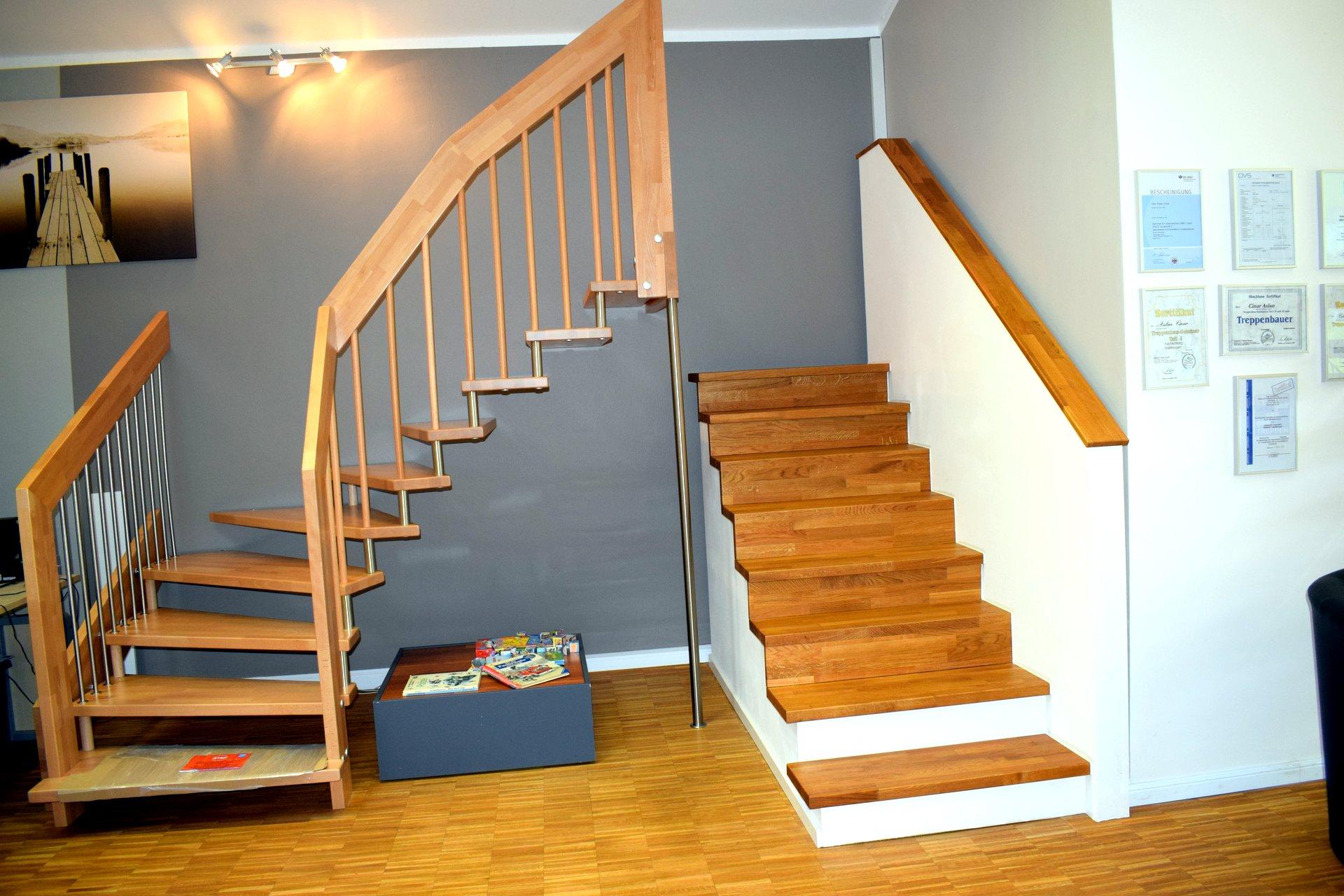 ausstellung cinar treppen gmbh. Black Bedroom Furniture Sets. Home Design Ideas